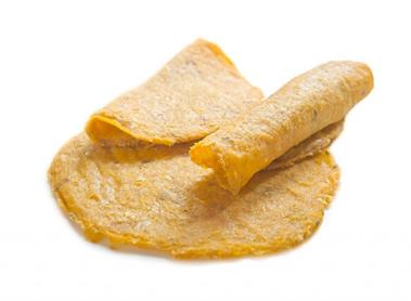 Tortillas gialle di mais